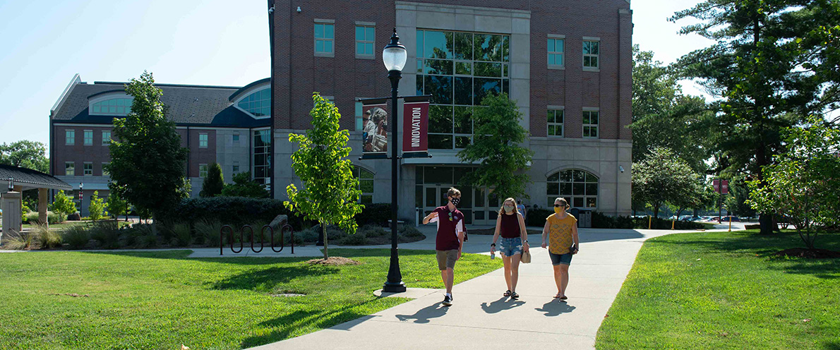 SIU transfer students campus tour